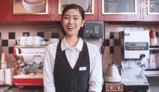 カフェ・ベローチェ |「ドッグ&サンドフェア」篇 美人店員と綺麗なお客さんは誰?